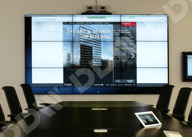 China Multi Monitor Control Room Video Wall 55 Inch RS232 Control Surface DDW-LW550HN16 supplier