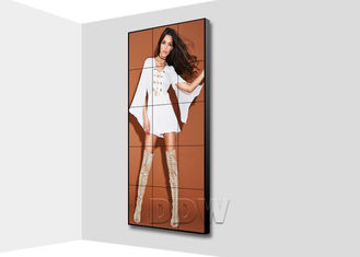 China 3.5 mm 500nits super narrow bezel monitor LCD video wall 55 inch for fashion store advertising DDW-LW550HN11 supplier