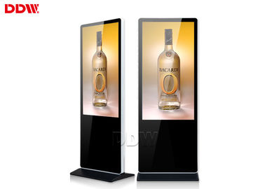 China 1920x1080 Resolution 50 Floor Standing Digital Signage Totem 178º Viewing Angle supplier