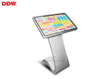 China Indoor Application 10dots capacitive Touch Screen Kiosk Digital Signage Advertising Display 16:9 Fhd DDW-AD4201TK supplier