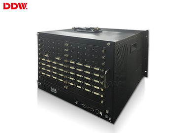 China 1x4 / 2x2 video wall controller 1080P higher resolution RS232 / IP Control method DDW-VPH0808 supplier