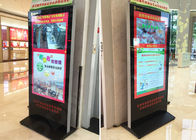 "84"" Advertising Stretched LCD Display Interactive 3840 X 2160 WLED Backlit For Mall"