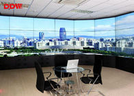 "Full HD screen curved video wall 55"" 5.3mm 1080p resolution for Live show DDW-DV55FHM-NS0"