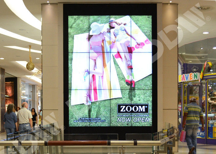 FHD screen commercial wall display , video wall lcd monitors