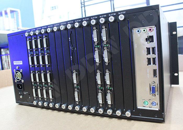 Dual Link DVI Input 4k video wall processor , video wall matrix