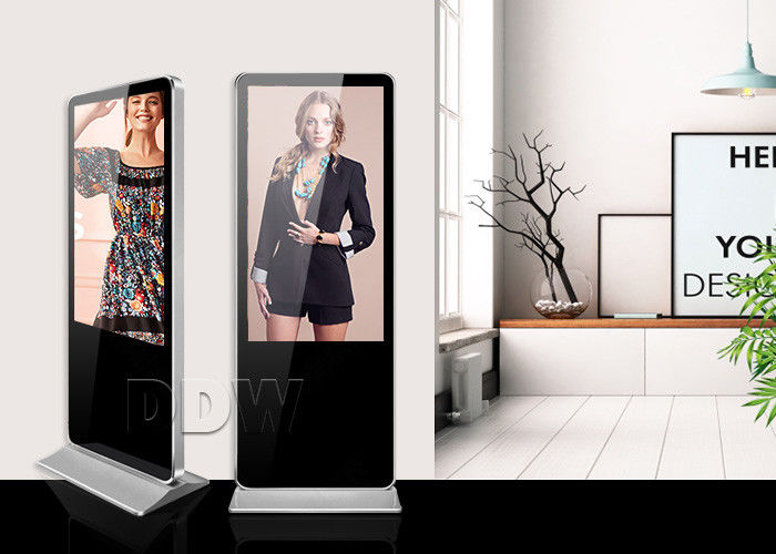 "StandaloneStretched LCD Display Totem 42"" Interactive WLED Backlit With Software"