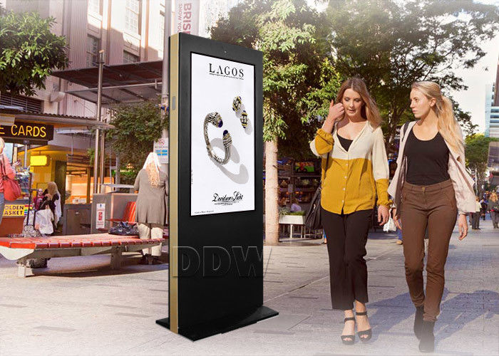 Outdoor Stretched LCD Display IP65 Waterproof Ultra Thin 3600W DDW - AD4701SNO Free Standing