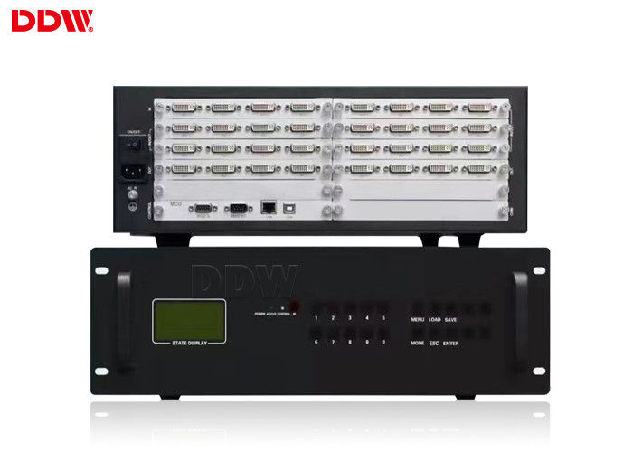 Vertical Display ip video wall controller Support large - screen image freeze DDW-VPH1012
