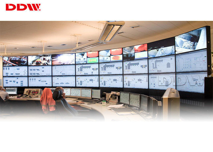 9 screen video wall round lcd video wall 178 x 178 Viewing Angle 5ms Response Time