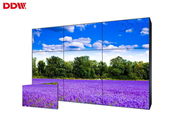Professional Manufacturer commercial street 55 inch video wall 3x3 video wall 3.5mm narrow bezel lcd video wall screen