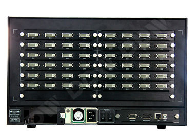 China Advertising screen display hdmi Video Wall Controller , multi screen processor 16x26 input output distributor
