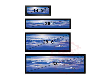 China 38 Inch Stretched Lcd Display 16/4 1920x1080P FHD Ultra Wide Android Os 700 Nits Hdmi VGA distributor