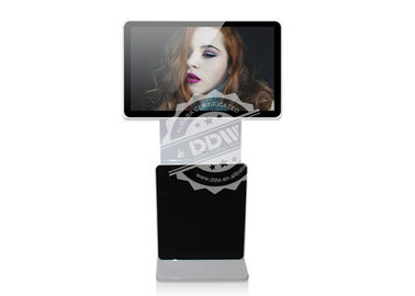 China 55 inch 1920x1080 floor stand tft type multi media software touch screen kiosk digital signage DDW-AD5501SNT distributor