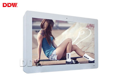 China 55 Inch Outdoor Lcd Display Screen / Standing Digital Signage High Brightness Monitor DDW-AD5501W distributor