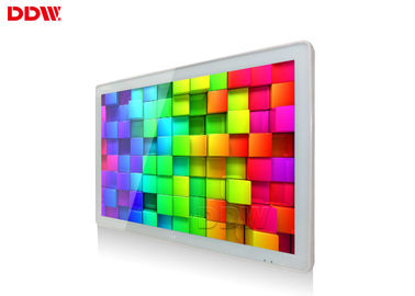 China 55 Inch Interactive Wall Mounted Advertising Display Fhd 1920x1080 Indoor Application distributor