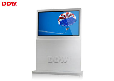 "China Indoor Free Standing Digital Signage software freeware 65"" LCD display 500cd / m2 DDW-AD6501S distributor"