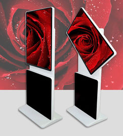 "Touch screen 55""rotating kiosk interactive Free Standing Kiosk Digital Signage with LAN / wifi / 3g network DDW-AD5501S"