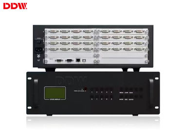 China Full HD display wall Processor 1920 x 1200 output 3840 x 2160 input RS232 LAN Control DDW-VPH0404 distributor