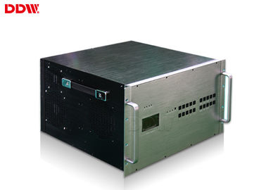 China Advertising lcd Display 4x4 video wall processor 40 input channels 18 / 36 output channels DDW-VPH1010 distributor