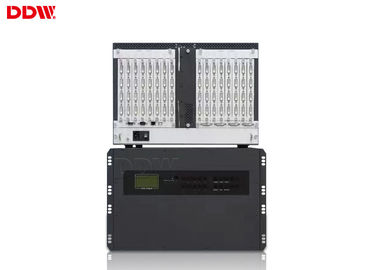 China High brightness lcd screen video wall matrix controller support 12 intput 12 output mall management center  DDW-VPH212 distributor