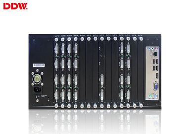 China Commercial lcd Video Wall controller advanced pure hardware structure display controller up to 1920*1200/60HZ factory