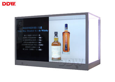 China 700 Nits Transparent Monitor Screen 42 Inch Android System 178° Viewable Angel distributor