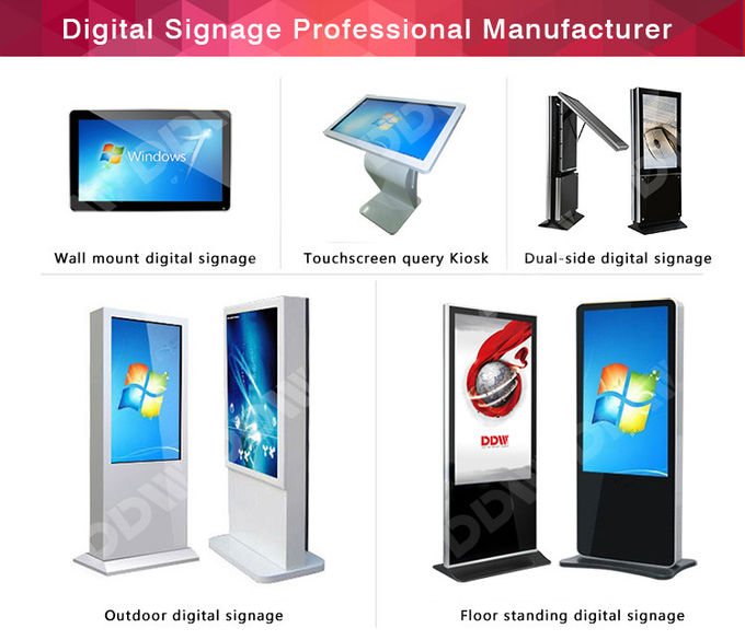 Electromagnetic Interactive Digital Signage 1920x1080 FHD Board For Classroom