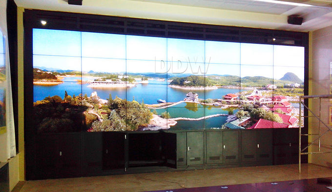 Meeting room Control room display 4k video wall 7 x 24 hours Working time for Security Monitoring Center