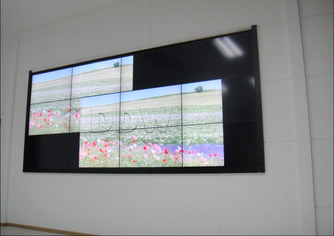 Seamless bezel screen LG video wall 55 inch 1080p high resolution lcd video wall display