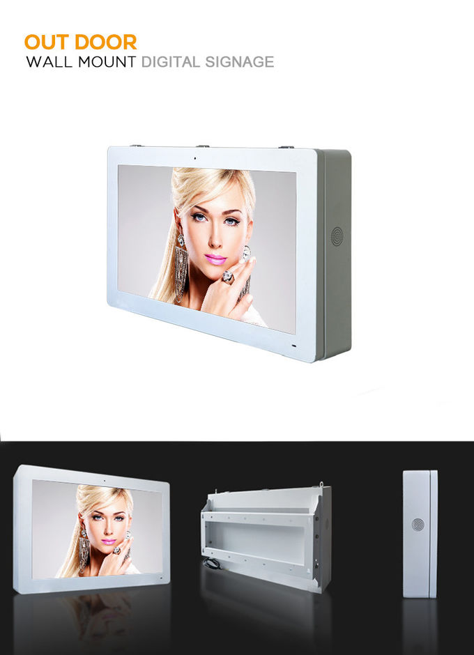 High Brightness Digital Signage Outdoor Digital Advertising Signs Dustproof