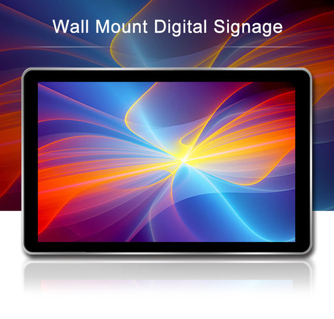 Self Service Touch Screen Digital Signage Wall Mounted Advertising 1920x1080 42 Inch